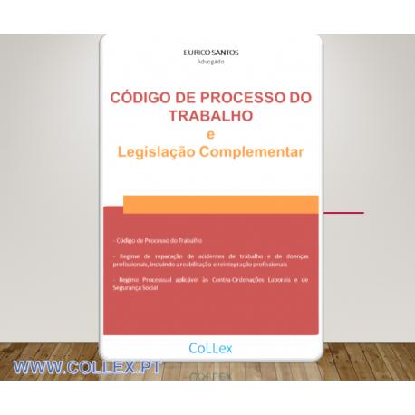 Código de Processo do Trabalho e Legislação Complementar