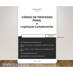 Código de Processo Penal e Legislação Complementar - Volume II
