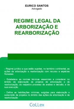 Regime Legal da Arborização e Rearborização