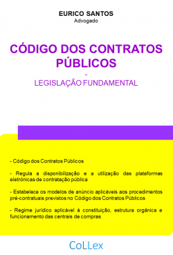 Código dos Contratos Públicos - Legislação Fundamental