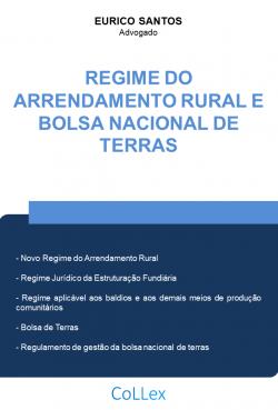 Regime do Arrendamento Rural e Bolsa Nacional de Terras