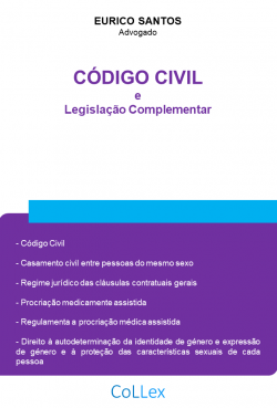 Código Cívil e Legislação Complementar
