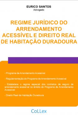 Regime Jurídico do Arrendamento Acessível e Direito Real de Habitação Duradoura