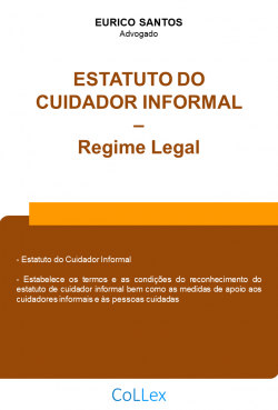 Estatuto do Cuidador Informal - Regime Legal
