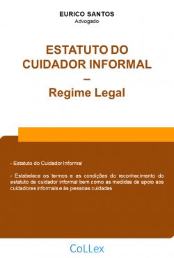Estatuto do Cuidador Informal - Regime Legal