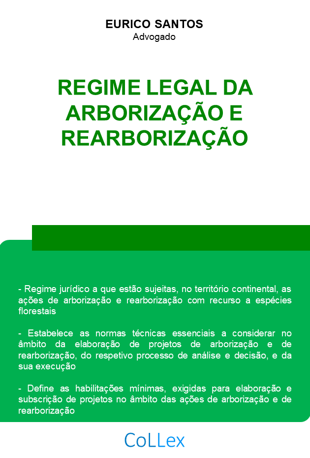 regime legal arborizacao